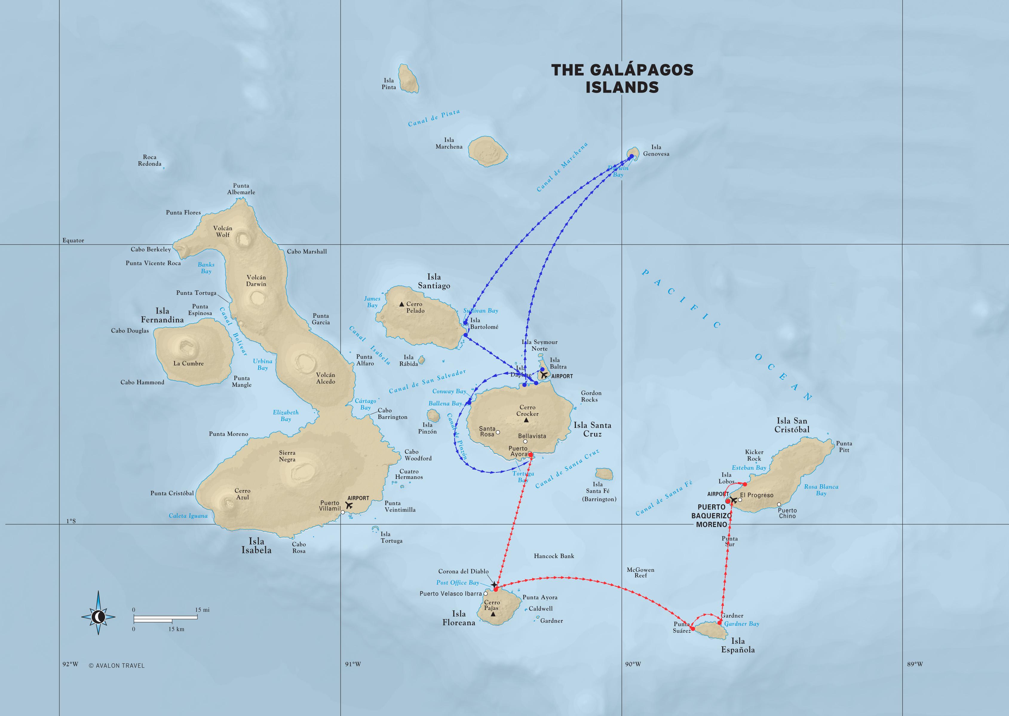 Galapagos Tours - Galapagos Islands Maps on puerto ayora, pinta island, amazon map, puerto baquerizo moreno, yucatan peninsula map, brazilian highlands map, cuba map, oman map, isabela island, bahamas map, lesser antilles map, ha long bay, genovesa island, puerto rico map, charles darwin research station, nameless island, greenland map, galapagos national park, cape horn map, strait of magellan map, patagonia map, japan map, darwin island, ecuador map, bay of fundy, pampas map, canada map, tierra del fuego map, pacific map, fernandina island, baltra island, lake titicaca map, floreana island, falklands map,
